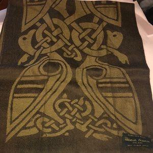 Patrick Francis Celtic print wool scarf